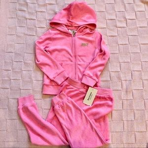New! Juicy Couture girls set! Size4/5/6